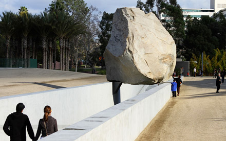 Levitated Mass <span>LACMA</span>